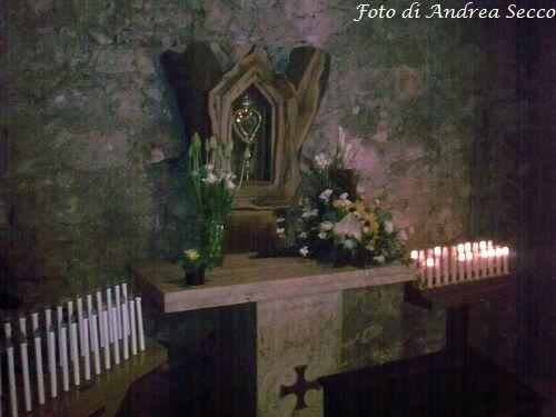La stalla di San Giuseppe - particolare con altare (Foto: Andrea Secco)