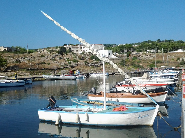 """Barca a vela latina """"Leuca"""""""