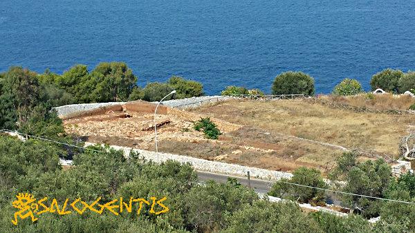 Area di scavo in località Palombara