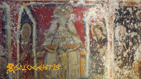 Cripta della Favana, Trinità