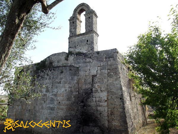 Sant'Angelo della Salute, Galatone, zona absidale
