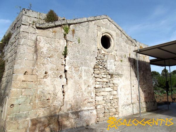 Sant'Angelo della Salute, Galatone, fronte
