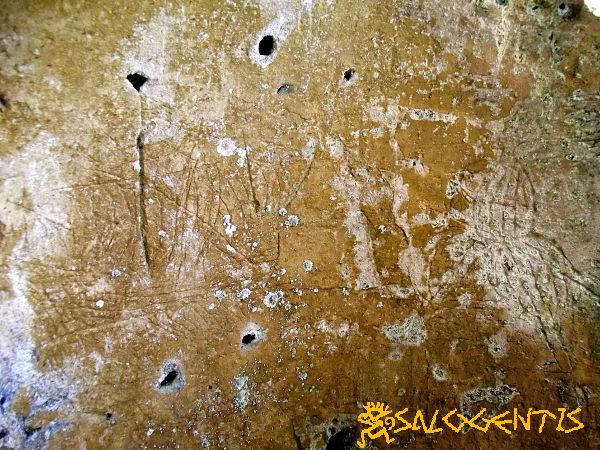 Graffiti grotta del turco, Otranto
