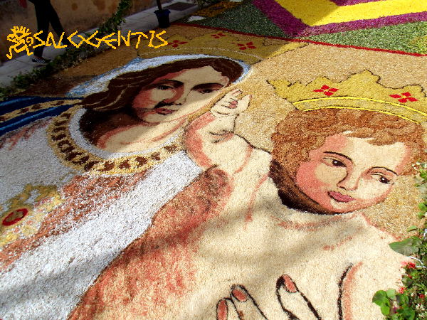 Infiorata di Patù, Madonna di Leuca
