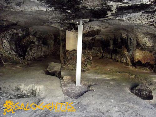 Area adibita a frantoio - Grotte di San Giovanni