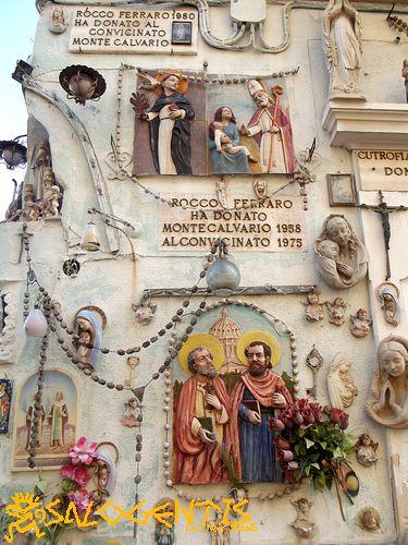 Casa dei Santi di Rocco Ferraro, Cutrofiano
