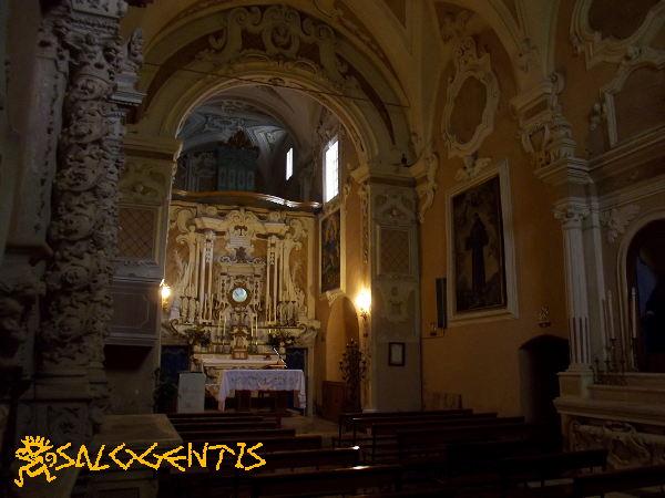 Chiesa Madonna di Costantinopoli, Marittima - Interno
