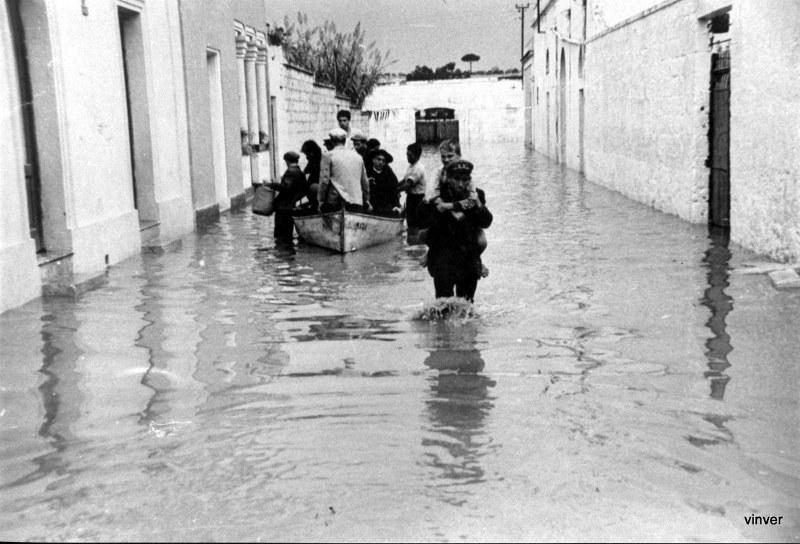 Foto alluvione Presicce del '57