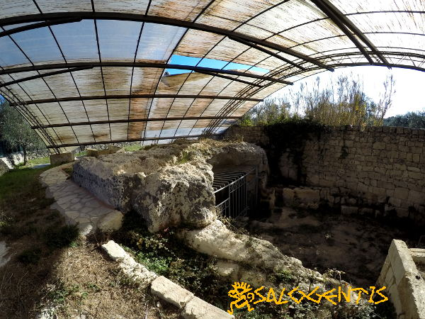 Cripta di San Solomo, esterno