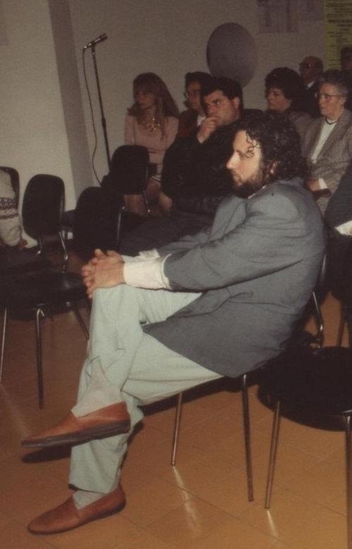 Giuseppe Corrado a Tricase nel 1992.