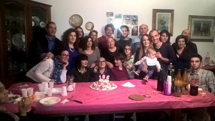 Il 106° compleanno di Nonna Peppi