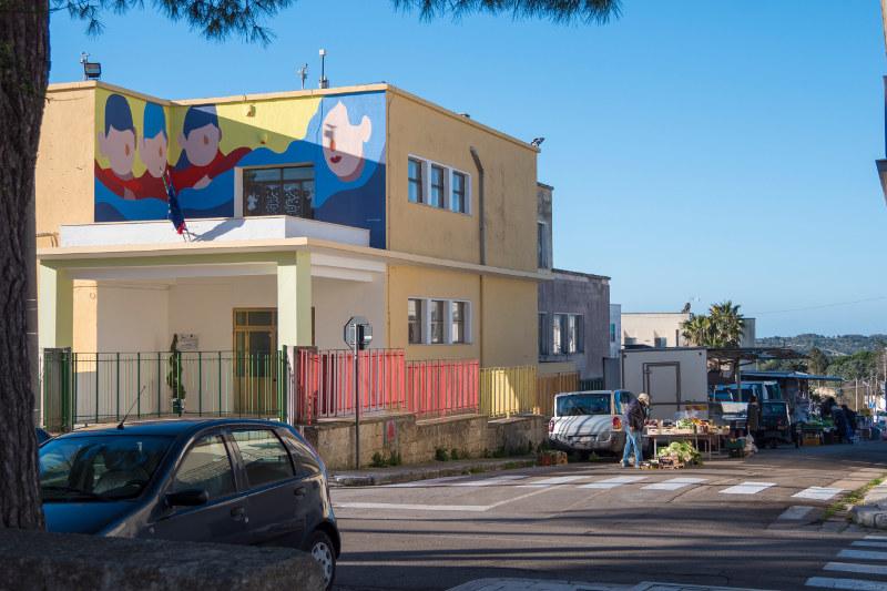 Murales fluttuante Montesardo