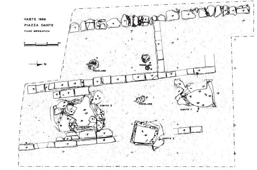 Planimetria tempio Demetra a Vaste