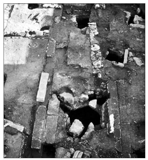 Veduta generale dell'area di scavo
