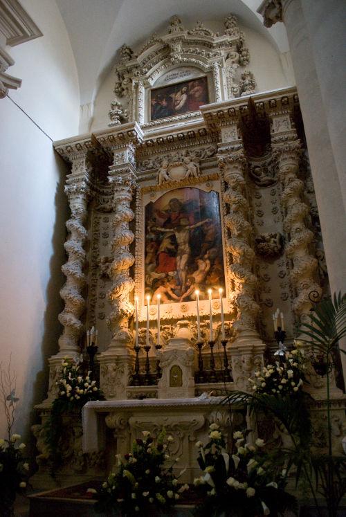 Risultati immagini per altari santa croce lecce