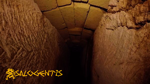 Tratto del cunicolo sotterraneo secondario
