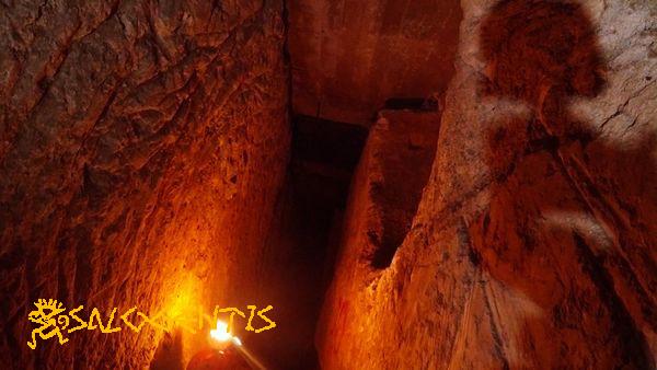 Sotterrani di Andrano, silos intercettato dallo scavo