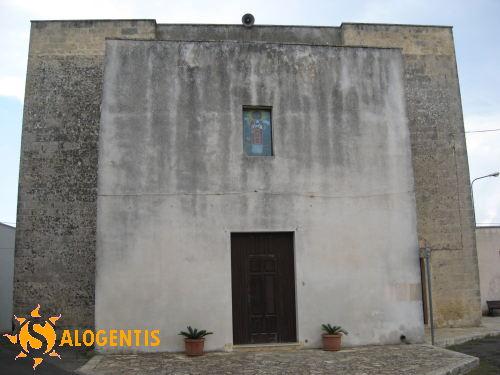 La chiesa dedicata a San Dana