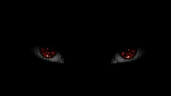 omino occhi rossi tam tam
