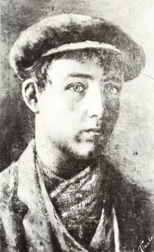 Autoritratto giovanile - 1910 – Museo Provinciale (Lecce)