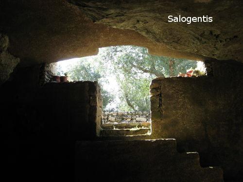 Ingresso della Cripta
