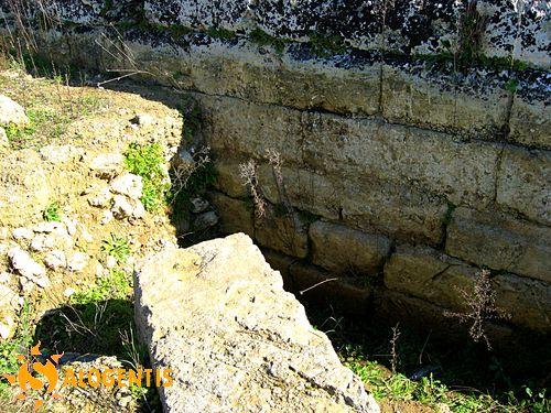 Le fondamenta delle mura