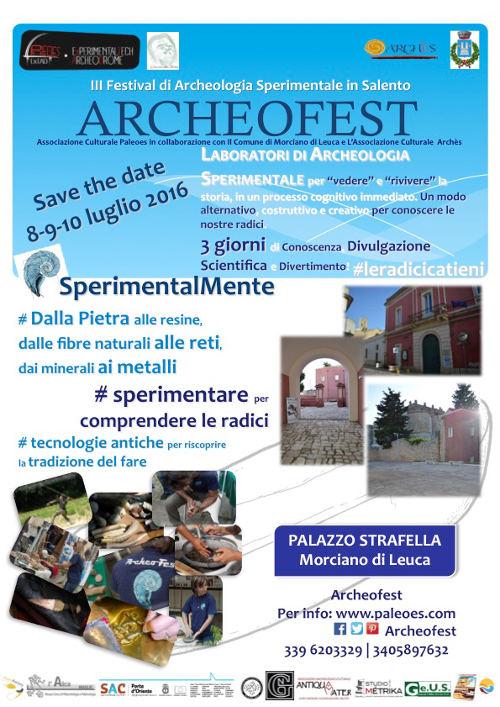 locandina archeofest