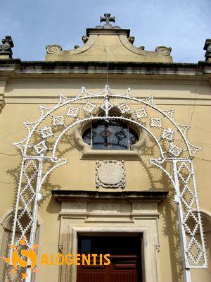 Facciata delle chiesa della Madonna dei Sette Dolori