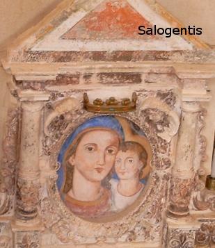Dipinto della madonna del Gonfalone
