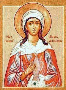 Icona di Maria Maddalena della chiesa Ortodossa (Fonte:wikipedia)