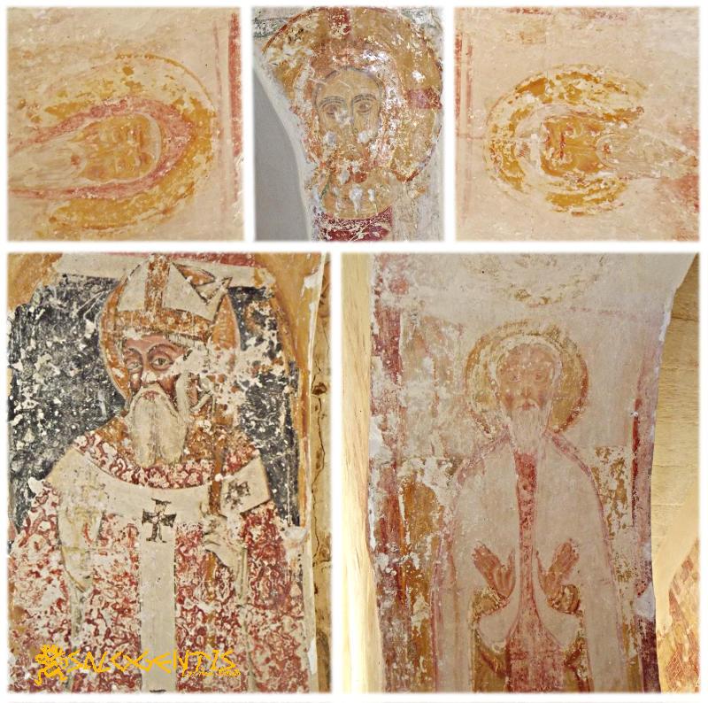 Altri affreschi all'interno della Basilica di San Salvatore