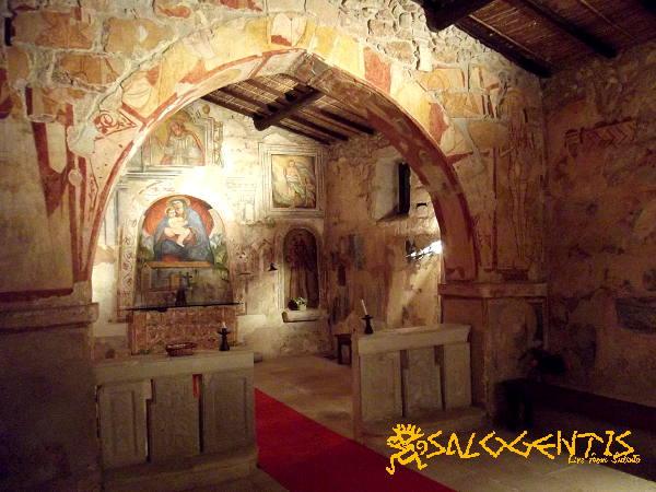 Chiesa di Santa Maria di Miggiano - interno