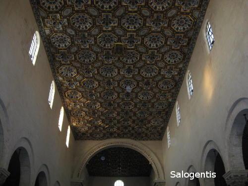 Il soffitto della cattedrale
